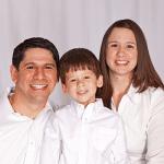 Frank, Stephanie, y Evan Rondon